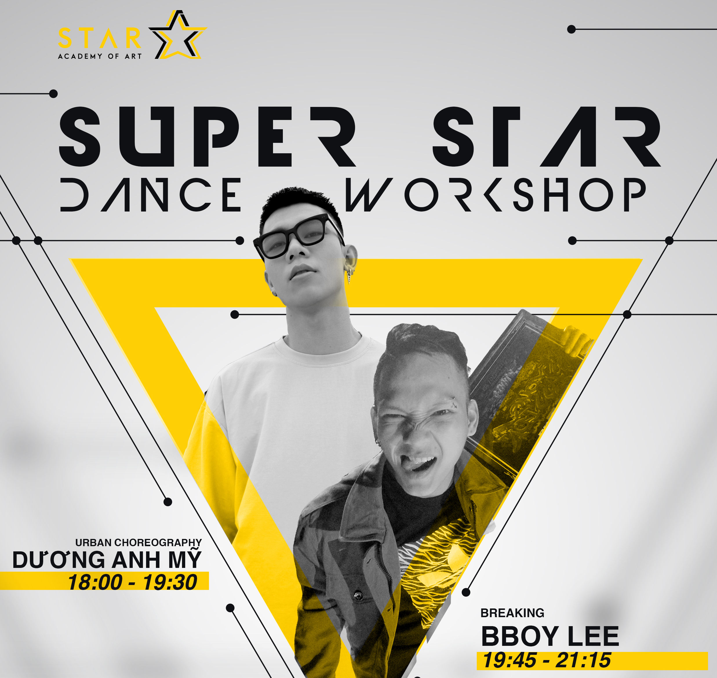 SUPER STAR DANCE WORKSHOP - 19/05/2018