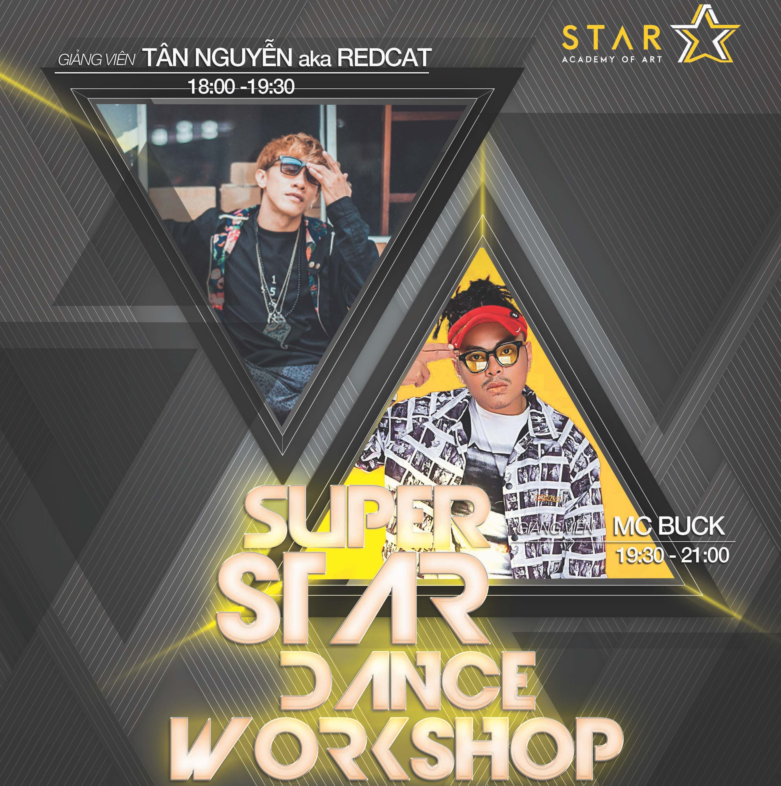 SUPER STAR DANCE WORKSHOP - 05/05/2018