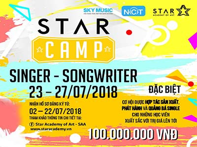 STAR CAMP - SINGER-SONGWRITER