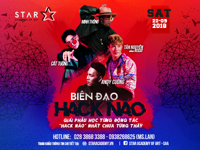 "Super Star Dance Workshop "" Biên Đạo Hack Não"" 22/09/2018"