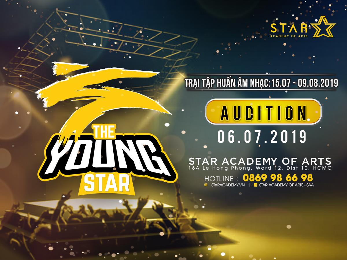 THE YOUNG STAR - TRẠI TẬP HUẤN ÂM NHẠC ĐẶC BIỆT