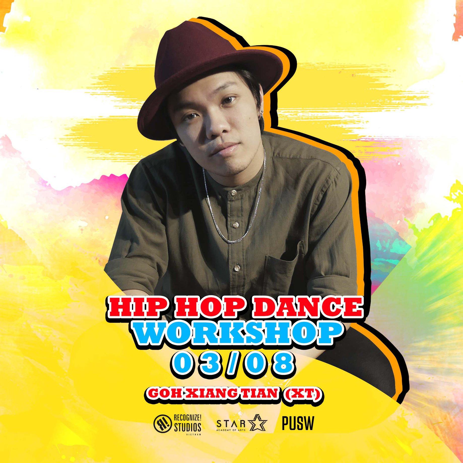 HIP HOP DANCE WORKSHOP CÙNG XT
