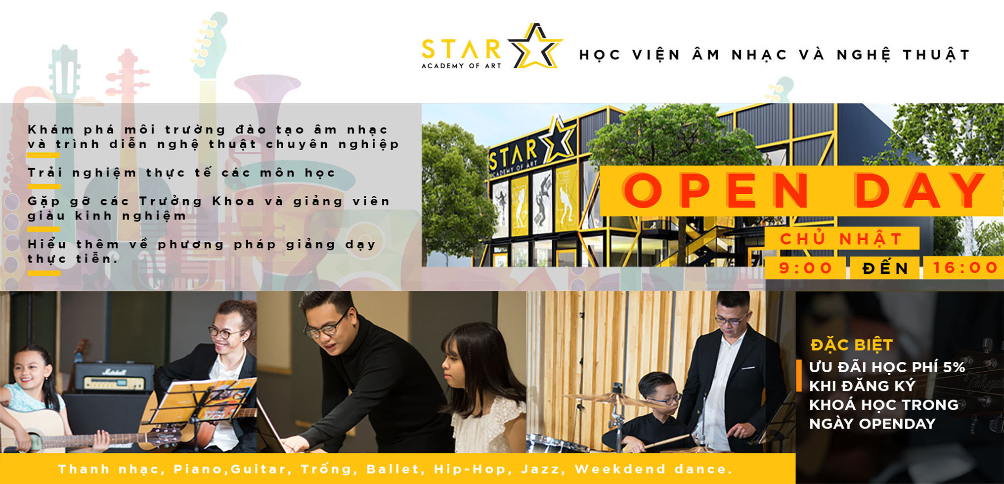 STAR ACADEMY OF ART OPEN DAY